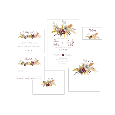 FALL FLORAL PACKAGE