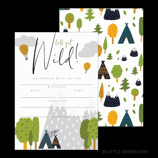 WILD INVITATION PACK