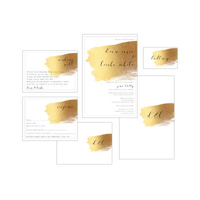 GOLD WATERCOLOUR PACKAGE