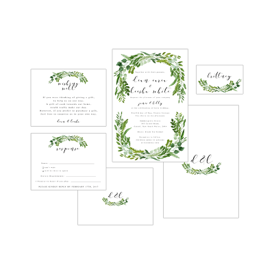GREEN WREATH PACKAGE